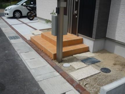 亀岡市で新築外構図