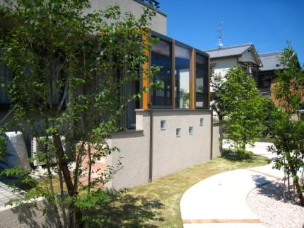 ガーデンルームを京都で施工