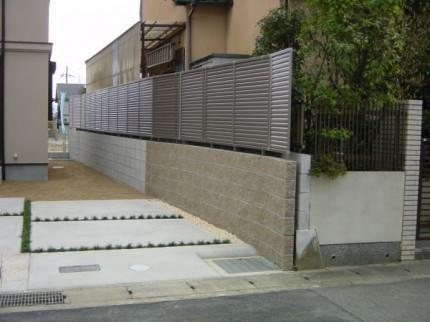 目隠し境界フェンス