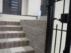 レンガ階段