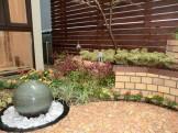 華やかな坪庭