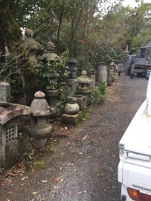 京都の石屋さん