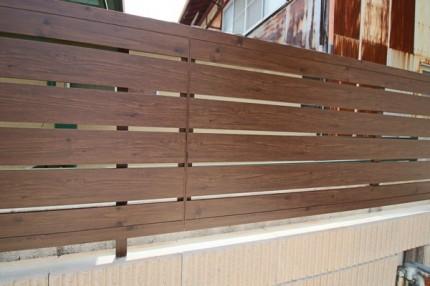 横板貼フェンス