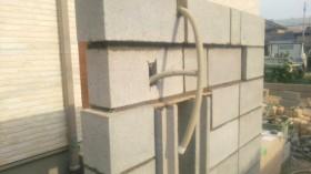 ブロック門柱