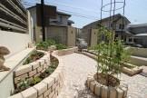 ガーデニングを快適に過ごす庭リフォーム