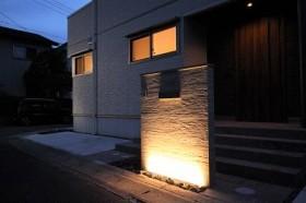 門柱ライトアップ