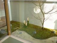 和風の坪庭