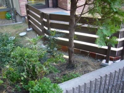 植栽で足元を埋める