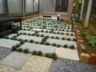 既存のモノを上手に使って庭をリフォーム/京都府宇治市
