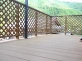 LIXILの人工木樹脂ウッドデッキ