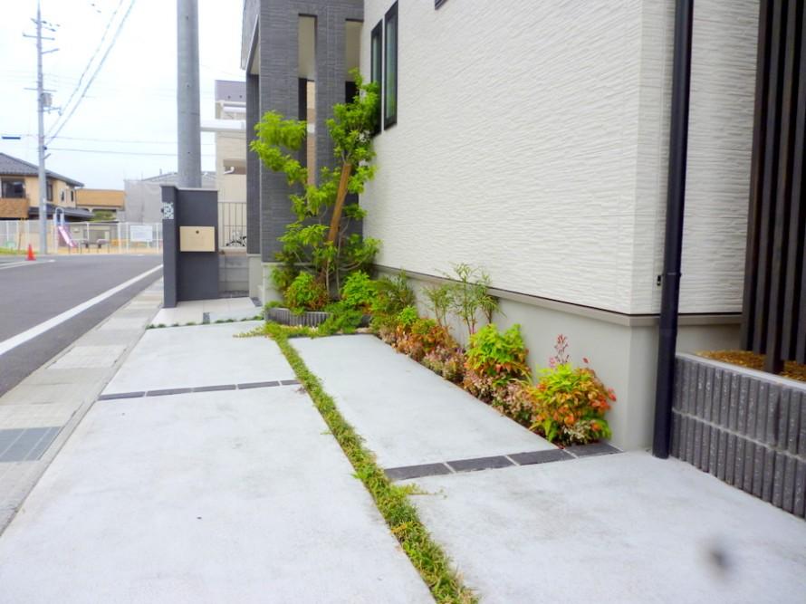 緑のシンプルモダン