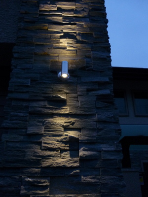 石材への照明